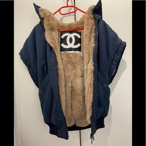 Chanel Vest with fur